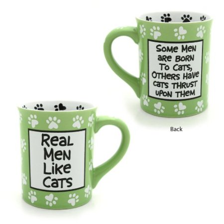 Real Men Like Cats Mug