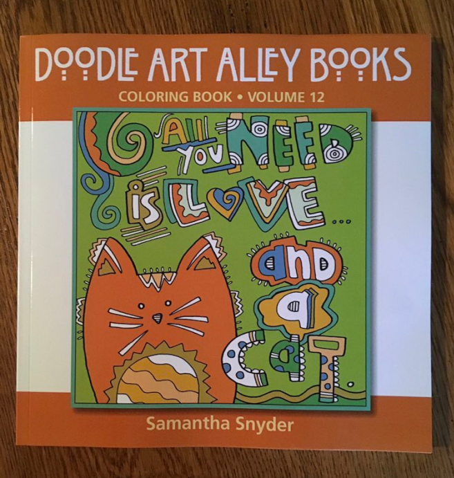 All You Need is Love... and A Cat Adult Coloring Book